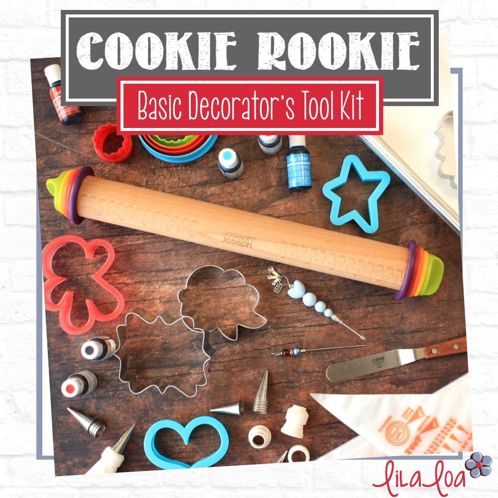 A Basic Cookie Decorator's Tool Kit