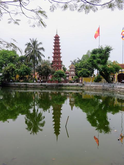 Trấn Quốc Pagoda in Hanoi Vietnam