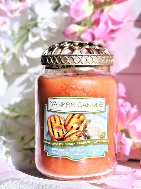 Avis Yankee Candle Sunday Brunch Grilled Peaches & Vanilla | Pêches grillées & Vanille