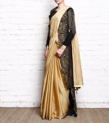 sarees with long blouse, create new looks from old sarees