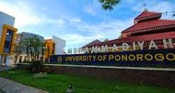Info Pendaftaran Mahasiswa Baru ( UMPO ) 2017-2018 Universitas Muhammadiyah Ponorogo