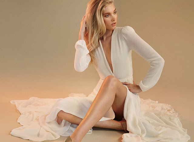 Elsa Hosk Fronts Reformation's Fall 2016 Bridal Collection Lookbook
