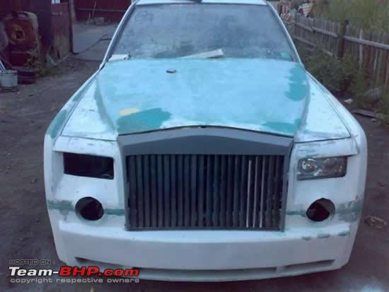 rolls royce phantom replica