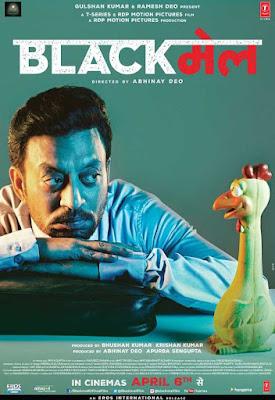 poster Blackmail 2018 Hindi HD 300MB