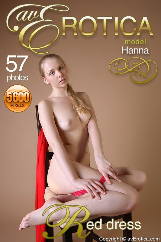 avErotica - Hanna - Red dress
