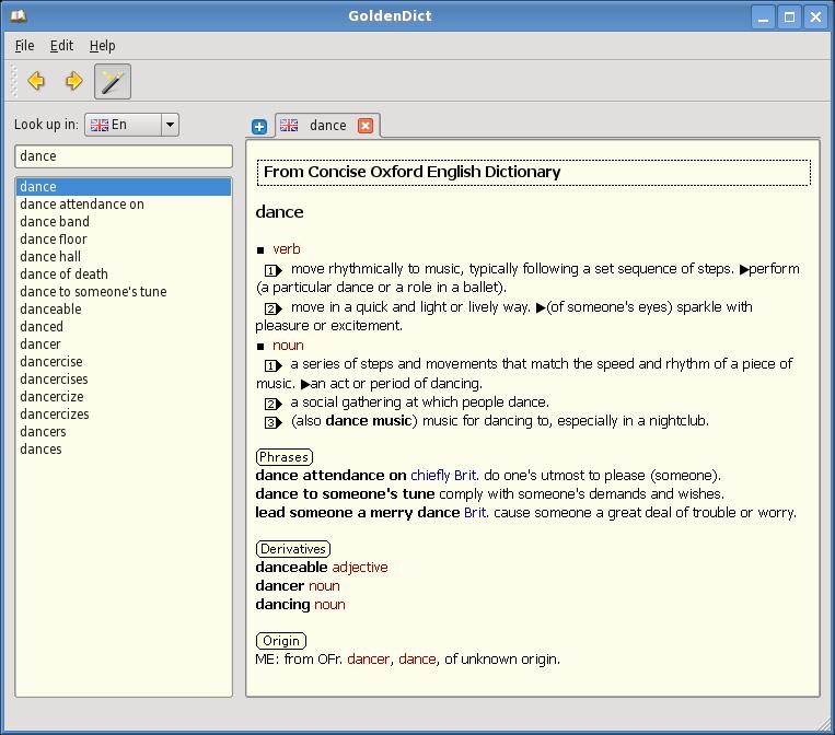 Install GoldenDict in Ubuntu - An Excellent Offline