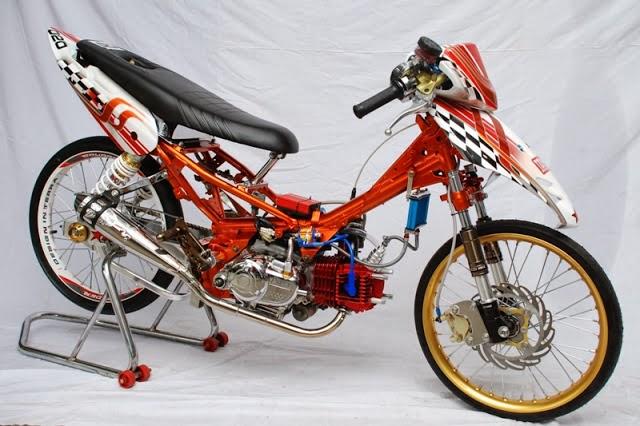 Foto Motor Drag Yamaha VEGA R