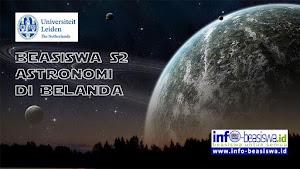 Beasiswa S2 Astronomi di Belanda
