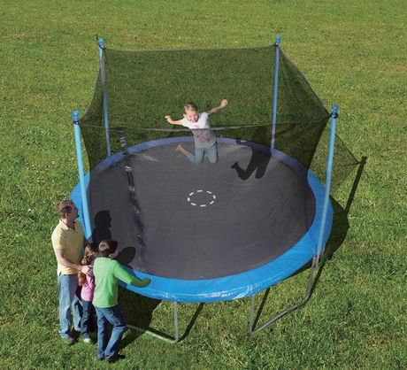 Last minute easter gifts that will actually arrive by easter i looked everywhere for a trampoline under 300 and ended up settling on this one which is sold at both walmart and amazon negle Gallery