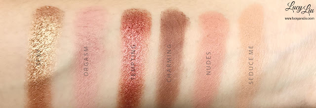 Beauty Creations Tease Me Palette Review swatch