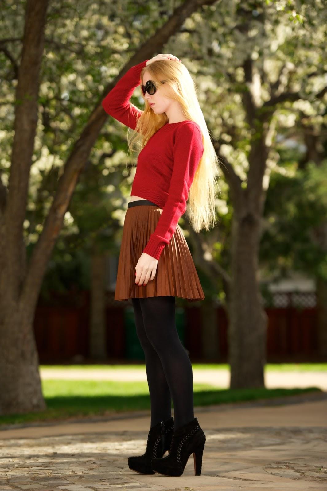 Skirt Long Boots Riding
