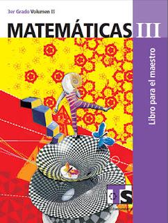 Libro de TelesecundariaMatemáticasIIITercer gradoVolumen IILibro para el Maestro2016-2017
