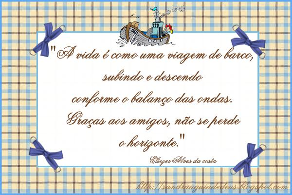 Cantinho Sandrinha S. S.: Mensagens De Amizade