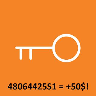 clé orange avec tangerine bonus 50$