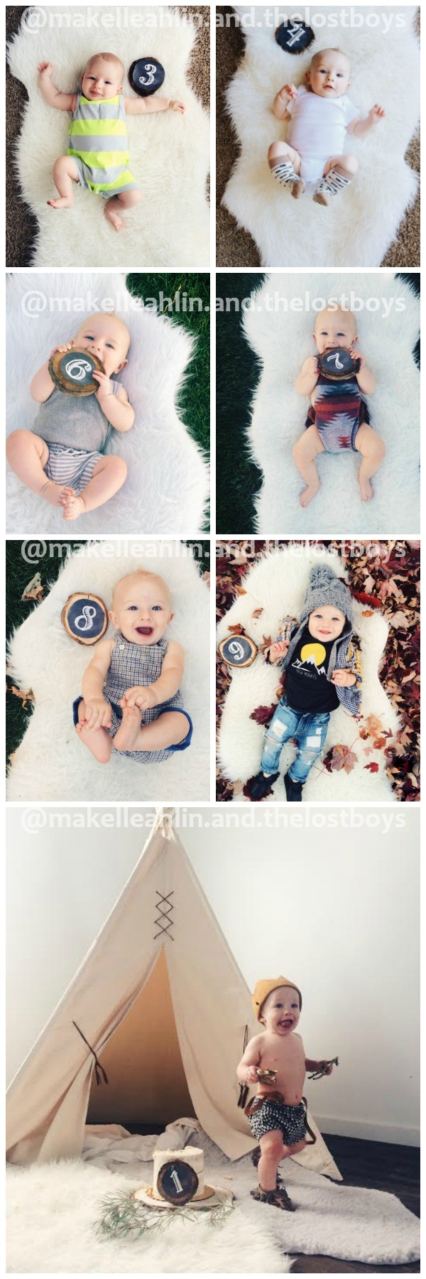 Baby Monthly Photos Ideas