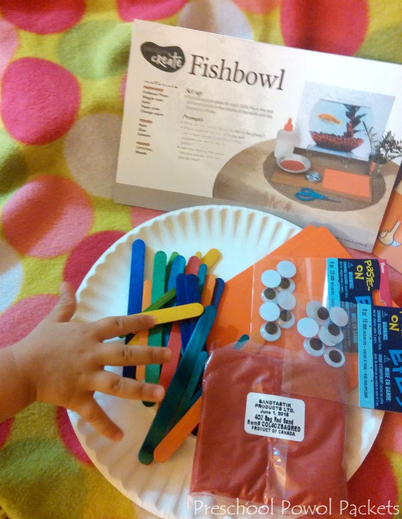 Fishbowl Preschool Craft Mother Goose Time Curriculum Review