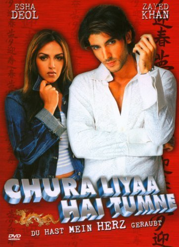 Poster Of Chura Liyaa Hai Tumne 2003 Hindi 400MB DVDRip 480p ESubs Free Download Watch Online