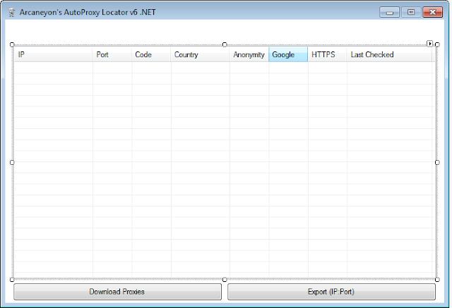 SRC-AutoProxy Locator v6.NET Source Code