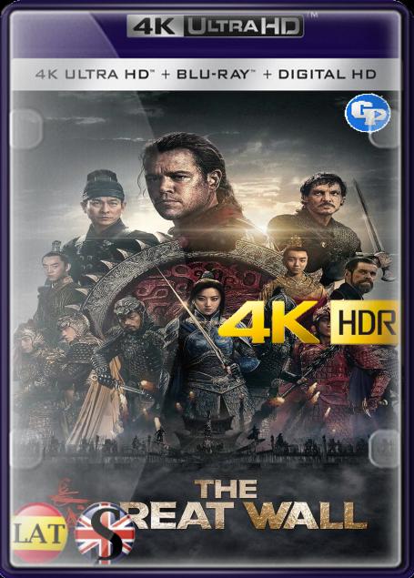 La Gran Muralla (2016) 4K HDR LATINO/INGLES