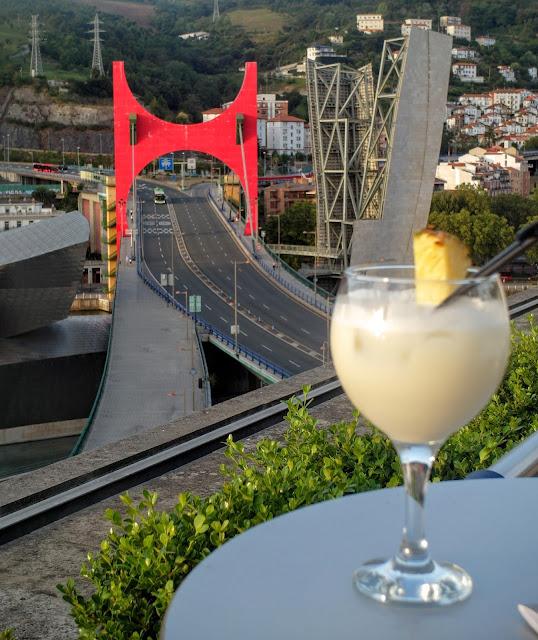 takterrass i Bilbao