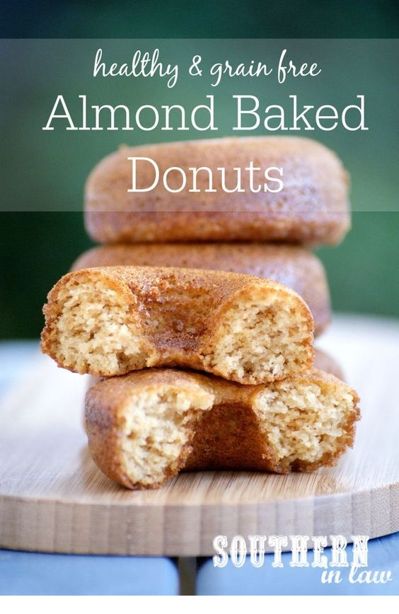 Healthy Paleo Almond Donuts Recipe