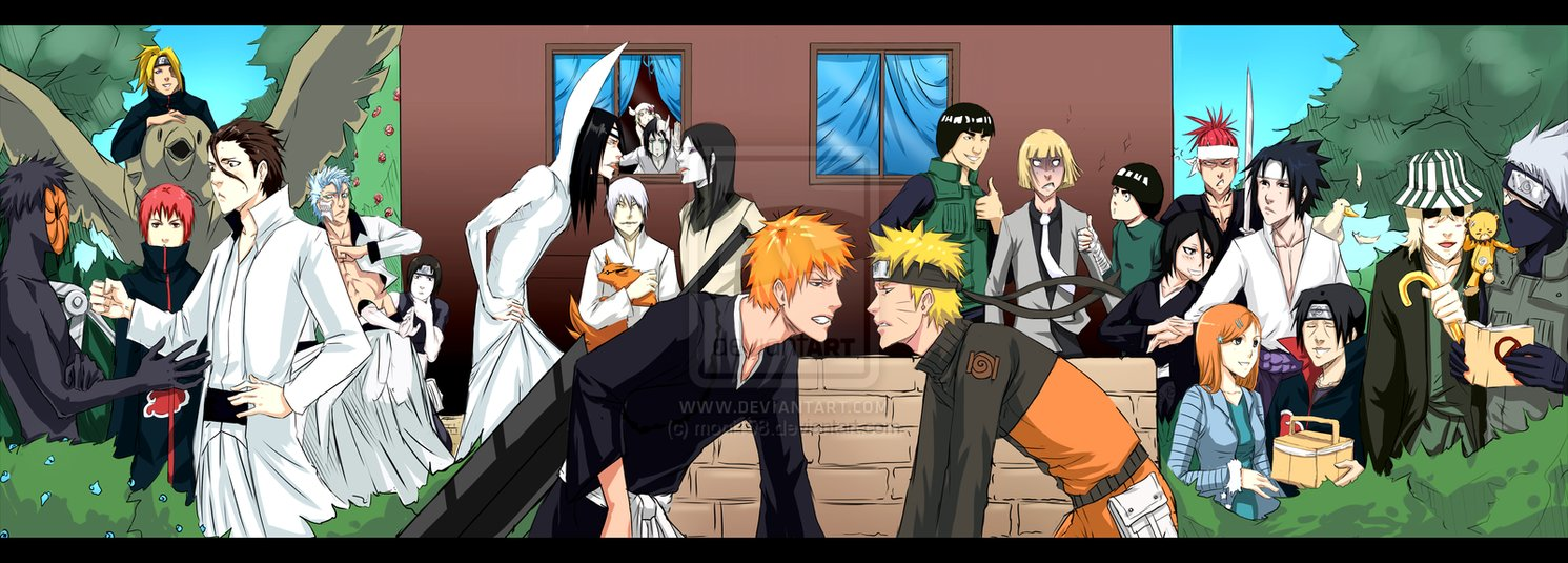 Naruto crossover