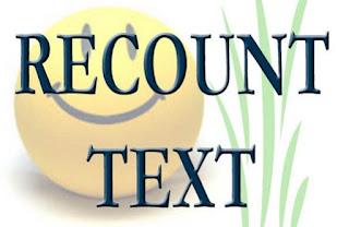 3 Contoh Recount Text Dan Strukturnya