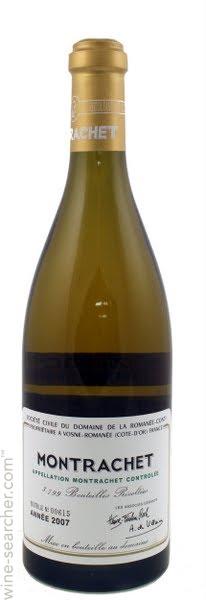 Domaine de la Romanee-Conti Montrachet Grand Cru adalah wine termahal di dunia