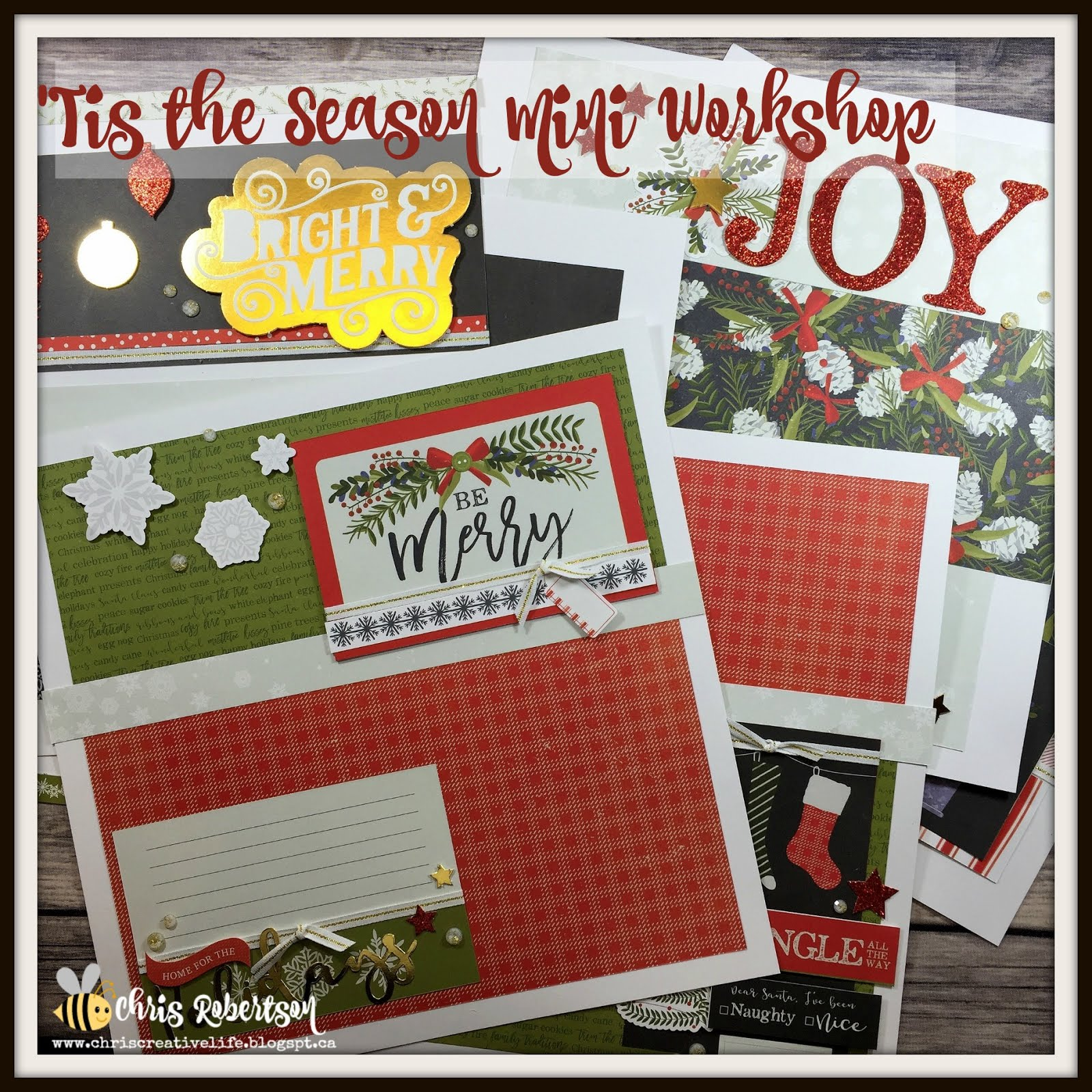 Mini 'Tis the Season Workshop