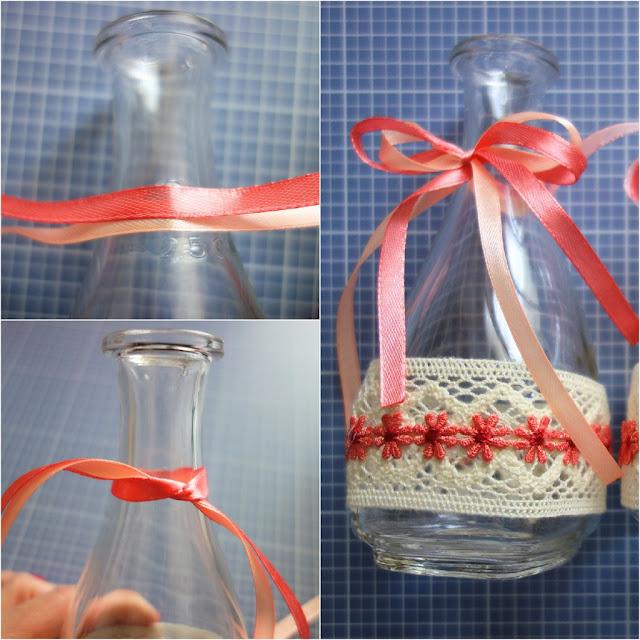 blumendeko-mit-heisskleber-basteln-glasflasche-verscheonern