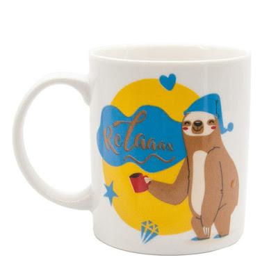 Ceramic Tea Couple Mugs-White