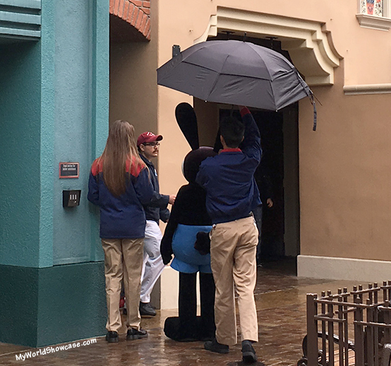 Rainy Days at Disneyland- Oswald