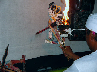 Balinese Shadow Puppet Show, Indonesia