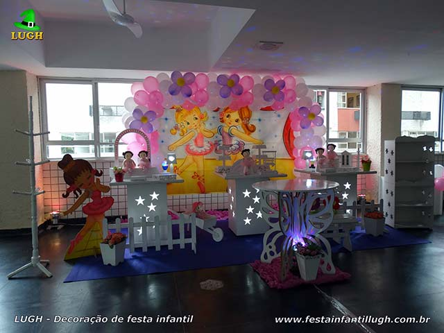 Decoração provençal - Festa feminina tema Bailarinas