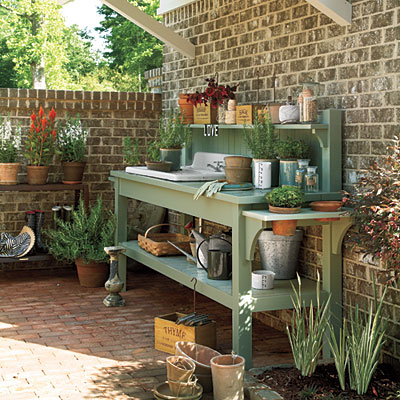 Potting Bench Inspiration Lilacs And Longhornslilacs And