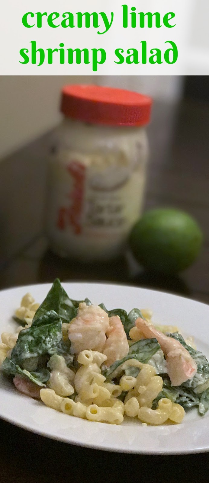 The Food Hussy!: Food Hussy Recipe: Creamy Lime Shrimp Salad