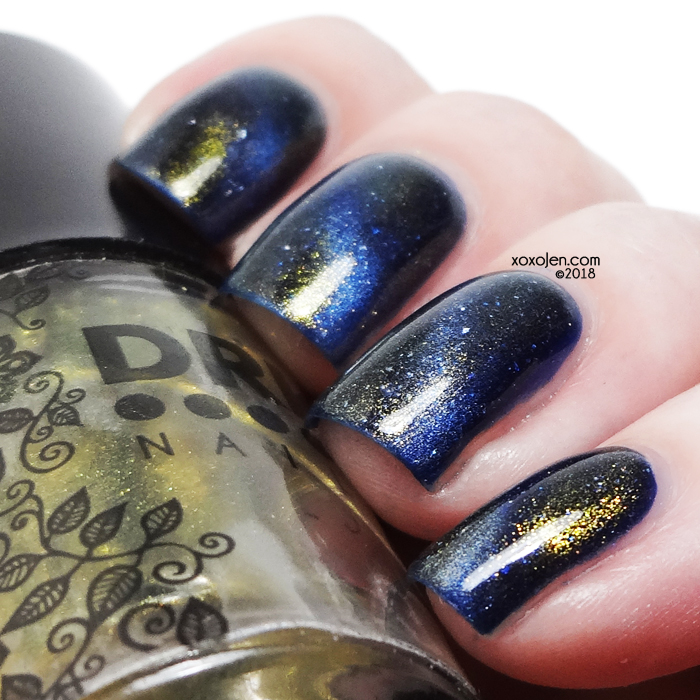 xoxoJen's swatch of DRK Nails Gruum Grumm & MiniOn