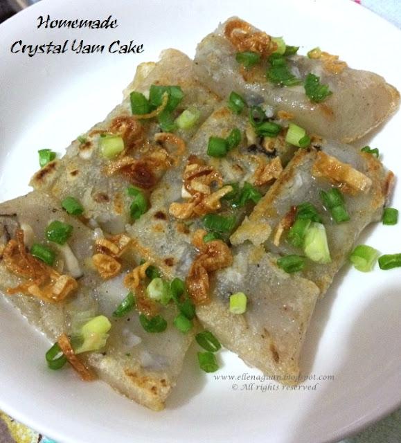 Crystal Taro Cake Recipe