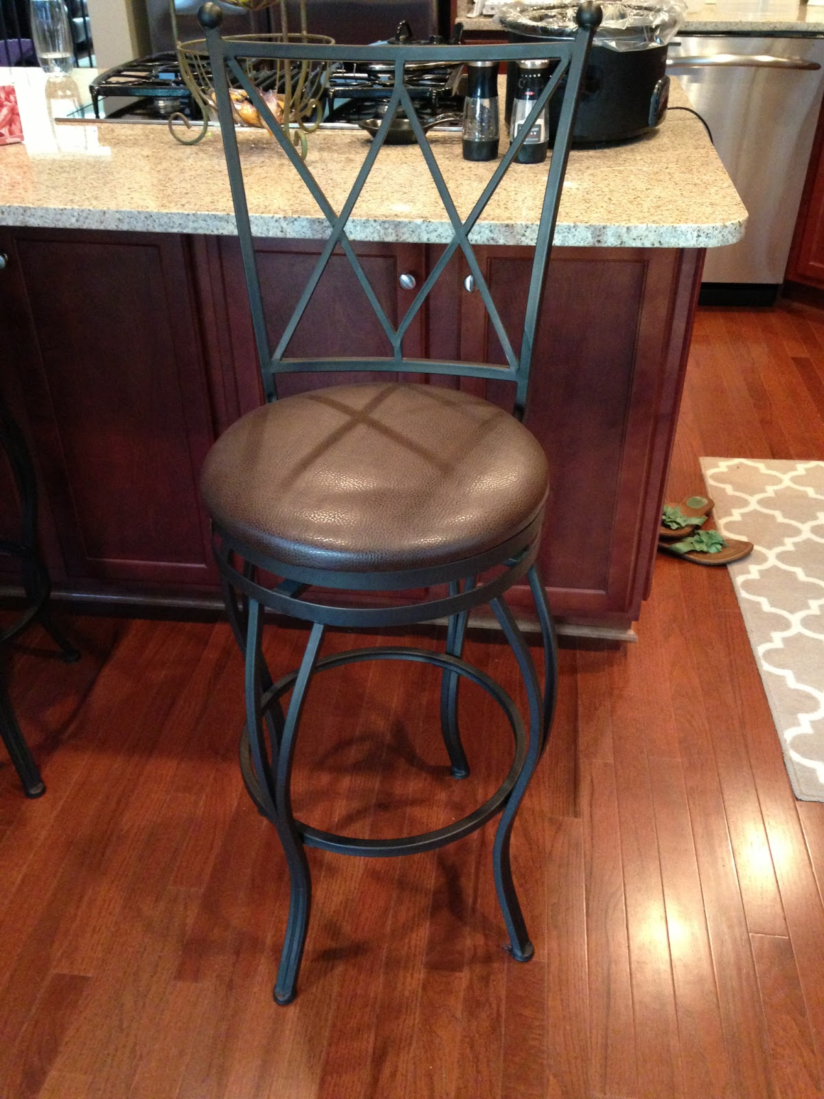 House Of Thrifty Decor Craigslist Find New Bar Stools