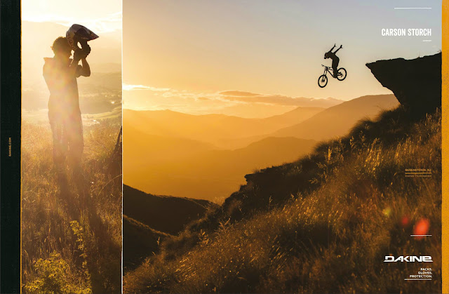 Commercial photography - DAKINE CLOTHING AND GEAR. MTB