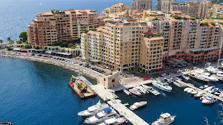 The second famous harbor in Monaco