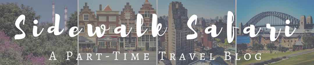Sidewalk Safari | Part-time Travel Blog