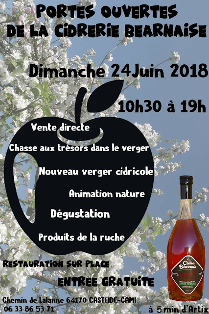Journée Portes Ouvertes de la Cidrerie Béarnaise 2018