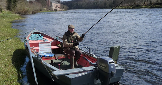 Salmon Fishing Scotland Prospects for Tay, Perthshire w/c 1st May 2017.