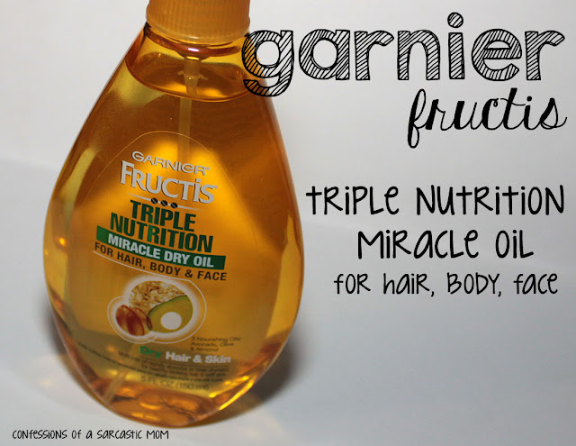 Garnier Fructis Triple Nutrition Miracle Dry Oil