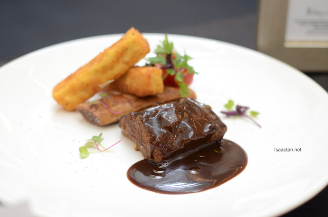 Australian Beef Short Ribs - Chef Donny Liew (Hugo's In The Sky)