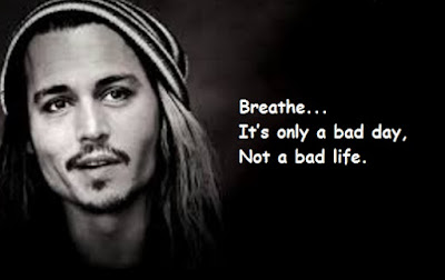 """Johnny Depp Quotes About Life"""