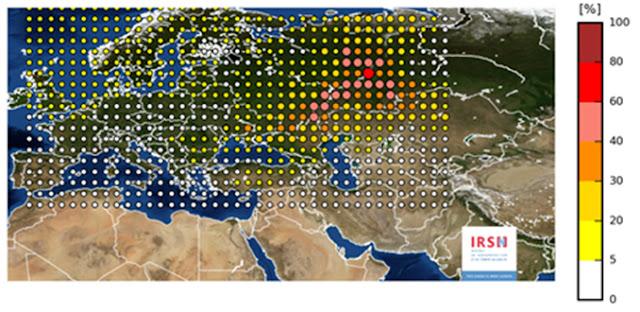 """Ρωσία: Παραδέχθηκε πως μας """"έστειλε"""" το ραδιενεργό ρουθήνιο-106"""