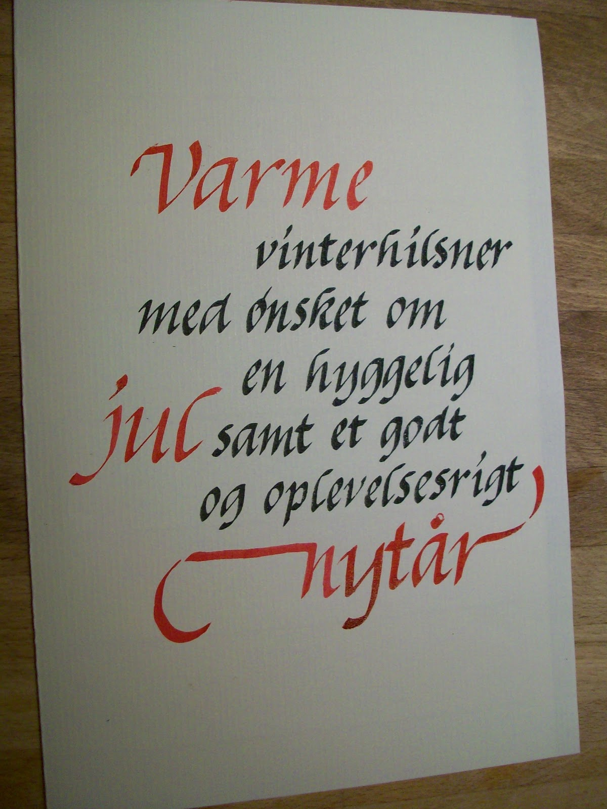 citater til julekort Birgitte Hansen: Julekort inspiration citater til julekort