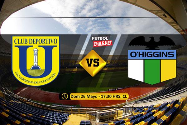 Mira Universidad de Concepción vs O'Higgins en vivo y online por la Primera División